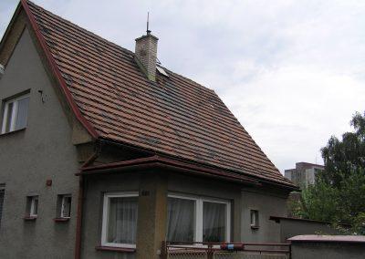 Rekonsrtukce střechy Frýdek – Slezská