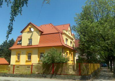 Rekonstrukce střechy Frýdlant